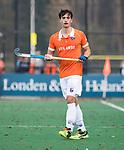 BLOEMENDAAL  - Tim Swaen (Bldaal)     Hoofdklasse competitie heren, Bloemendaal-HGC (7-2). COPYRIGHT KOEN SUYK