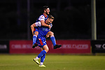 BRISBANE, AUSTRALIA - MARCH 1:  during the NPL Queensland Senior Mens Round 4 match between Olympic FC and Peninsula Power United at Goodwin Park on March 1, 2020 in Brisbane, Australia. (Photo by Patrick Kearney)