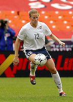 Cindy Parlow , USWNT vs Canada April 26, 2003.
