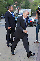Manuel Pizarro visits San Isidro funeral home following the death of Miguel Boyer in Madrid, Spain. September 29, 2014. (ALTERPHOTOS/Victor Blanco) /nortephoto.com