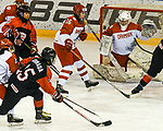 06.01.2020, BLZ Arena, Füssen / Fuessen, GER, IIHF Ice Hockey U18 Women's World Championship DIV I Group A, <br /> Japan (JPN) vs Daenemark (DEN), <br /> im Bild Tor zum 5:0 Minami Kamada (JPN, #15), Signe Sorensen (DEN, #16), Emma-Sofie Nordstrom (DEN, #25)<br />  <br /> Foto © nordphoto / Hafner