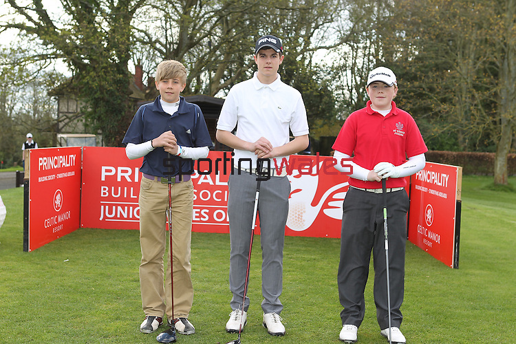 Principality Junior Wales Open 2012.Marriott St Pierre..12.04.12.©Steve Pope