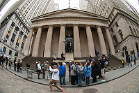 Federal Hall in New York seen on Thursday, March 28, 2013. (© Frances M. Roberts)