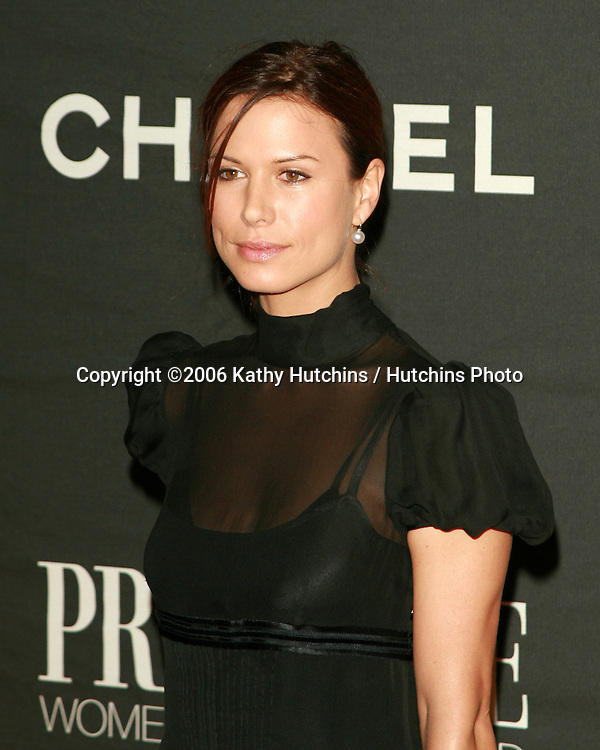 Rhona Mitra.Premiere Women In Hollywood Dinner.Beverly Hills Hotel.Beverly Hills, CA.September 20, 2006.©2006 Kathy Hutchins / Hutchins Photo....