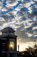 Union with sunset clouds (photo by Megan Bean / © Mississippi State University)