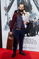 Fuego Fatuo attends to Fantastic Beasts: The Crimes of Grindelwald film premiere during the Madrid Premiere Week at Kinepolis in Pozuelo de Alarcon, Spain. November 15, 2018. (ALTERPHOTOS/A. Perez Meca) /NortePhoto