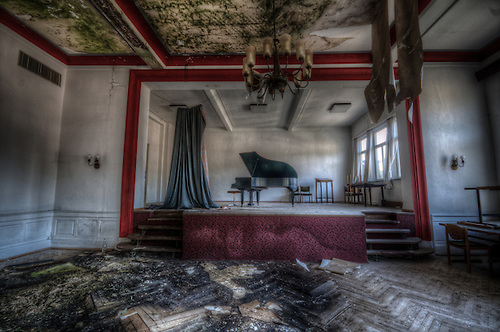 A abandoned hotel in the sout of Germany