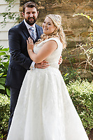 Anna and Garrett's OFFICIAL wedding photos. They were married at The Sutherland in Wake Forest, NC Saturday, September 1, 2018. (Justin Cook)