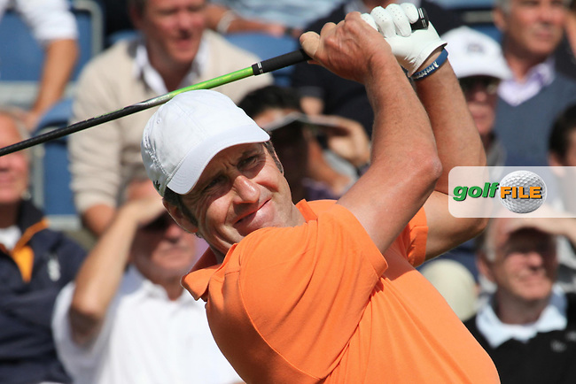06-09-12 European Tour 2012, KLM Open, Hilversumsche Golf, Hilversum, The Netherlands. 06-09 Sep. Jose Maria  Olazabal of Spain during the first round. .Picture: golfsupport/golffile.ie.