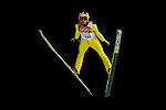 Noriaki Kasai of Japan during the Men's Normal Hill Individual of the 2014 Sochi Olympic Winter Games at Russki Gorki Ski Juming Center on February 9, 2014 in Sochi, Russia. Photo by Victor Fraile / Power Sport Images