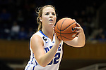 17 November 2013: Duke's Tricia Liston. The Duke University Blue Devils played the University of Alabama Crimson Tide at Cameron Indoor Stadium in Durham, North Carolina in a 2013-14 NCAA Division I Women's Basketball game. Duke won the game 92-57.