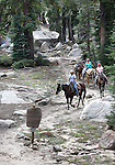 during a horseback ride to Granite Lake in Alpine County, Ca., on Wednesday, Sept. 14, 2011. .Photo by Cathleen Allison