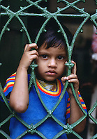 Child, Mother Teresa's Mission, Calcutta, India.
