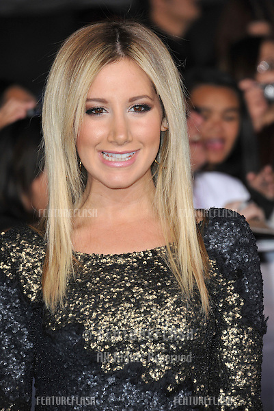 "Ashley Tisdale at the world premiere of ""The Twilight Saga: Breaking Dawn - Part 2"" at the Nokia Theatre LA Live..November 12, 2012  Los Angeles, CA.Picture: Paul Smith / Featureflash"