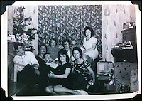 BNPS.co.uk (01202 558833)<br /> Pic: DavidLay/BNPS<br /> <br /> ***Please use full byline***<br /> <br /> Ellen Jenkins and friends at a party with the record player in the early sixties.<br /> <br /> Whole lot of shakin going on...<br /> <br /> The record player owned by Elvis Presley during his time in the US Army in Germany is being auctioned in Devon.<br /> <br /> And it has emerged that the vintage turntable led to the King of Rock'n'Roll being evicted from the Grunewald hotel in Bad Nauheim after a string of loud parties in 1959. <br /> <br /> Elvis was asked to leave the hotel in February of that year after leaving other guests all shook up by his frequent parties. <br /> <br /> One guest, Ellen Jenkins, told Elvis that she was about to marry an Englishman and move to Britain so he gave her the Perpetuum Ebner Musical 5v Luxus player as an early wedding present.