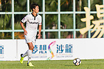 Wai Ho Chan of Dreams FC in action during the Dreams FC vs Wofoo Tai Po match of the week one Premier League match at the Aberdeen Sports Ground on 26 August 2017 in Hong Kong, China. Photo by Yu Chun Christopher Wong / Power Sport Images
