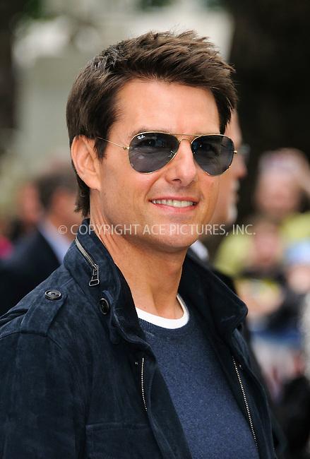 WWW.ACEPIXS.COM . . . . .  ..... . . . . US SALES ONLY . . . . .....June 10 2012, London....Tom Cruise at the premiere of 'Rock of Ages' held at the Odeon Leicester Square on June 10 2012 in London....Please byline: FAMOUS-ACE PICTURES... . . . .  ....Ace Pictures, Inc:  ..Tel: (212) 243-8787..e-mail: info@acepixs.com..web: http://www.acepixs.com
