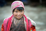 Mingmar Chengjom, 5, lives in the Tamang village of Goljung, in the Rasuwa District of Nepal near the country's border with Tibet.<br /> <br /> <br /> Parental consent obtained.