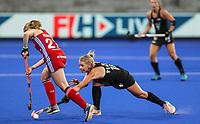 Kirsten Pearce. Pro League Hockey, Vantage Blacksticks v Great Britain. Nga Puna Wai Hockey Stadium, Christchurch, New Zealand. Friday 8th February 2019. Photo: Simon Watts/Hockey NZ