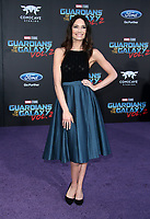 HOLLYWOOD, CA - April 19: Mallory Jansen, At Premiere Of Disney And Marvel's &quot;Guardians Of The Galaxy Vol. 2&quot; At The Dolby Theatre  In California on April 19, 2017. <br /> CAP/MPI/FS<br /> &copy;FS/MPI/Capital Pictures