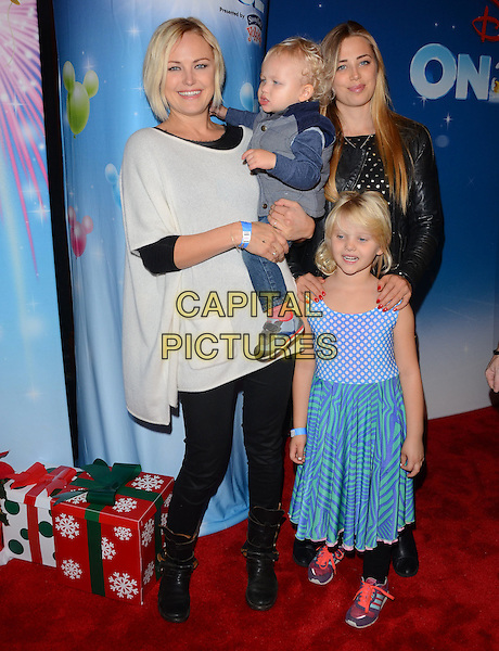 11 December 2014 - Los Angeles, California - Malin Akerman. Arrivals for Disney On Ice presents Let's Celebrate held at Staples Center in Los Angeles, Ca.  <br /> CAP/ADM/BT<br /> &copy;Birdie Thompson/AdMedia/Capital Pictures