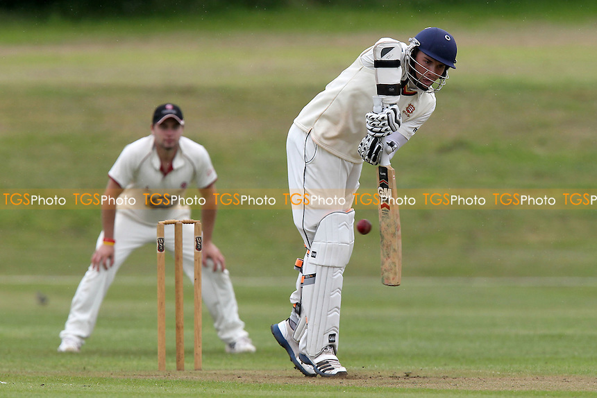Billy Godleman in batting action for Essex - Essex CCC 2nd XI vs Somerset CCC 2nd XI - Second XI  County Championship Cricket at Coggeshall Cricket Club - 18/07/12 - MANDATORY CREDIT: Gavin Ellis/TGSPHOTO - Self billing applies where appropriate - 0845 094 6026 - contact@tgsphoto.co.uk - NO UNPAID USE.