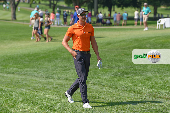 Henrik Stenson (SWE) approaches the first tee during 3rd round of the World Golf Championships - Bridgestone Invitational, at the Firestone Country Club, Akron, Ohio. 8/4/2018.<br /> Picture: Golffile | Ken Murray<br /> <br /> <br /> All photo usage must carry mandatory copyright credit (© Golffile | Ken Murray)