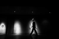 Pix: Michael Steele/SWpix.com. Snooker. Steve Davis, Doncaster Dome 1992...COPYWRIGHT PICTURE>>SIMON WILKINSON>>01943 436649>>..Master in the art. Snooker legend Steve Davis, Doncaster Dome 1992.