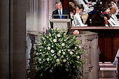 Presidential biographer Jon Meacham speaks during the State Funeral for former President George H.W. Bush at the National Cathedral, Wednesday, Dec. 5, 2018, in Washington. <br /> Credit: Andrew Harnik / Pool via CNP