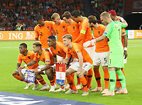 Mannschaftsfoto Niederlande - 13.10.2018: Niederlande vs. Deutschland, 3. Spieltag UEFA Nations League, Johann Cruijff Arena Amsterdam, DISCLAIMER: DFB regulations prohibit any use of photographs as image sequences and/or quasi-video.