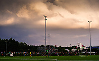 20200723, BEVEREN ,  BELGIUM : illustration picture showing the heavy clouds during a friendly soccer game between Bosdam Beveren and Club Brugge YLA Dames  in the preparations for the coming season 2020 - 2021 of Belgian Women's SuperLeague ,23 th of July 2020  in Beveren , Belgium . PHOTO SPORTPIX.BE | SEVIL OKTEM