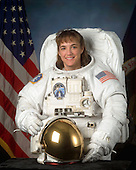 Houston, TX - (FILE) -- Portrait of Astronaut Heidemarie M. Stefanyshyn-Piper, mission specialist, STS-126, dated March 13, 2003. Stefanyshyn-Piper is scheduled for launch aboard Space Shuttle Endeavour on Friday, November 14, 2008.  The 15-day flight will deliver equipment and supplies to the space station in preparation for expansion from a three- to six-person resident crew aboard the complex. The mission will include four spacewalks to service the station?s Solar Alpha Rotary Joints..Credit: NASA via CNP