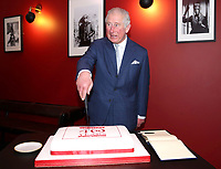 Prince Charles at an official visit to BFI Southbank