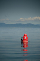 Navigational Buoy #4 Off Jones Island, San Juan Islands, Washington, US