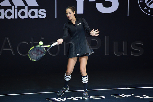 21.05.2015. Hôtel Salomon de Rothschild , Paris, France. Adidas launch of new clothing for the upcoming Roland Garros tennis tournament.  Ana Ivanovic