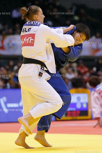 Ruika Sato (JPN), DECEMBER 7, 2014 - Judo : <br /> IJF Grand Slam Tokyo 2014 International Judo Tournament <br /> Women's -78kg Semi Final <br /> at Tokyo Metropolitan Gymnasium, Tokyo, Japan. <br /> (Photo by AFLO SPORT) [1180]