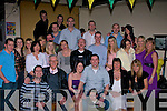 CELEBRATIONS: Celebrations were in full swing at the Glen bar & Hostel, Tralee on Friday night  as Brian Hurley, Farmers Bridge, Tralee celebrated his 30th Birthday with Family and friends...................