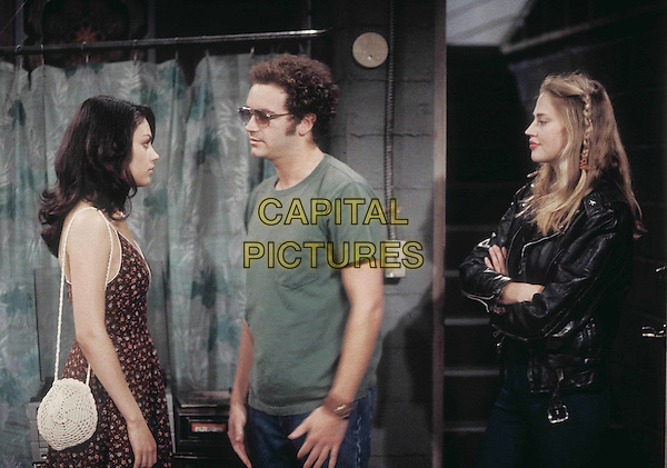 MILA KUNIS, DANNY MASTERSON & ESTELLA WARREN.in That 70's Show.Filmstill - Editorial Use Only.Ref: FB.www.capitalpictures.com.sales@capitalpictures.com.Supplied by Capital Pictures