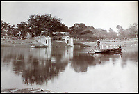 BNPS.co.uk (01202 558833)<br /> Pic: CanterburyAuctionGalleries/BNPS<br /> <br /> The &quot;Suttee Chowra Ghat&quot; at Kanpur, where the massacre of surrendered British forces took place, seen from across the river.<br /> <br /> A Scottish photographer's stunning collection of photos of India and Afghanistan in the 1880s have been unearthed after 130 years.<br /> <br /> G.W Lawrie set up a studio in Lucknow, northern India in the 1880s and took captivating black and white photos of his new surroundings.<br /> <br /> Included in the collection of 40 photos are views of lavish temples including the King of Oudh's palace in Lucknow, opulent buildings and beautiful scenery.<br /> <br /> However, Lawrie was also interested in the native population and took photos of them going about their everyday lives.