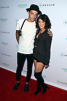 HOLLYWOOD, CA - JULY 25: Josh Beech and Shenae Grimes at the Premiere Of Cinedigm's 'Amateur Night' at ArcLight Hollywood on July 25, 2016 in Hollywood, California. Credit: David Edwards/MediaPunch