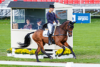 AUS-Christopher Burton rides Coup De Coeur Dudevin during the second day of Dressage for the CCI3*-L7YO. Interim-3rd. 2019 FRA-Mondial du Lion - FEI World Breeding Championships. Le Lion d'Angers. France. Friday 18 October. Copyright Photo: Libby Law Photography