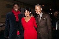 NEW YORK, NY - FEBRUARY 6:  Kris Jenner in Badgley Mischka and  Jay Manuel attend The Heart Truth Red Dress Collection 2013 Fashion Show on February 6, 2013 in New York City. © Diego Corredor/MediaPunch Inc. ... /NortePhoto