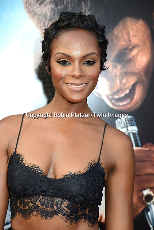 """Tika Sumpter attends the World Premiere of """"Get On Up"""" at the Apollo Theater in Harlem in New York Citiy on July 21, 2014."""