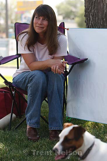 Murray - Dogs ran a timed obstacle course, the Course A' Lure, at the Humane Society Sunday, August 2. Pet psychic Paula Davis was on hand to do readings..