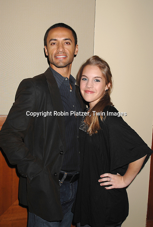 Kamar de los Reyes and Kristen Alderson..at The Feast with Famous Faces 2007 Gala benefitting..The League for the Hard of Hearing on October 22, 2007 at Pier Sixty at Chelsea Piers. ..Robin Platzer, Twin Images