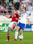 Womens EURO 2009, Finland-Denmark at Olympic Stadium in Helsinki 08232009