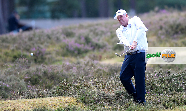 Mark Calcavecchia of USA during the Second Round of The Senior Open at Sunningdale Golf Club, Sunningdale, England. Picture: Golffile | Richard Martin-Roberts<br /> All photo usage must carry mandatory copyright credit (&copy; Golffile | Richard Martin- Roberts)