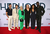 "31 July 2019 - Hollywood, California - Frank De Julio, Jake Hoffman, Patricia Arquette, Angela Bassett, Sinqua Walls. Photo Call For Netflix's ""Otherhood"" held at The Egyptian Theatre. Photo Credit: FSadou/AdMedia"