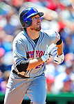 4 July 2010: New York Mets first baseman Ike Davis in action against the Washington Nationals at Nationals Park in Washington, DC. The Mets defeated the Nationals 9-5, splitting their 4-game series. Mandatory Credit: Ed Wolfstein Photo