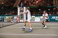 Rotterdam, The Netherlands, 9 Februari 2020, ABNAMRO World Tennis Tournament, Ahoy, Doubles: Wesley Koolhof (NED) and Nikola Mektic (CRO).<br /> Photo: www.tennisimages.com